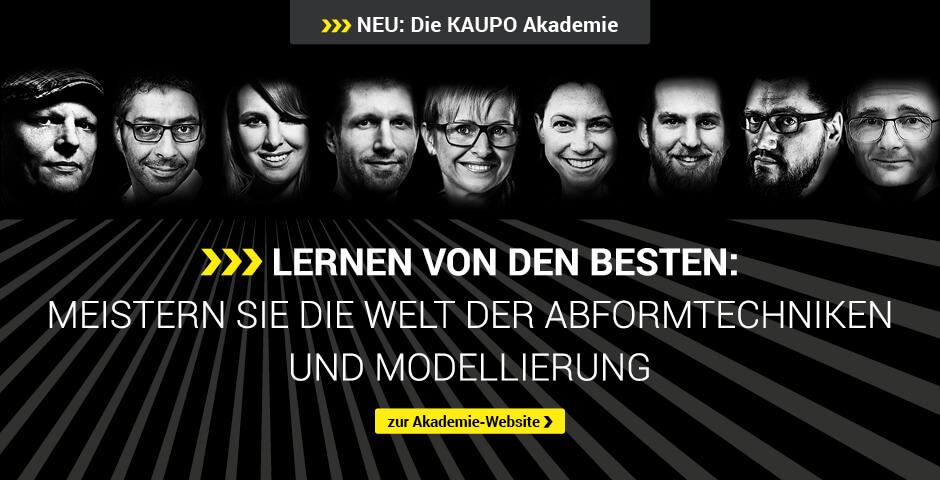 KAUPO Akademie - Abformtechnik & Modellierung