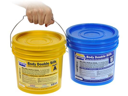 Body Double Silk/2 Silicone Rubber