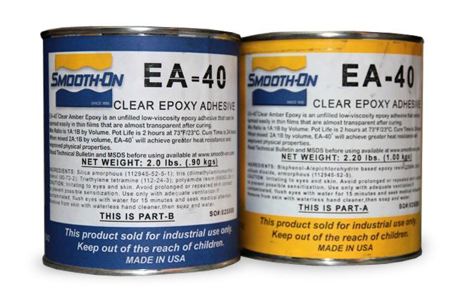 EA-40/3  2K-Epoxidkleber transparent