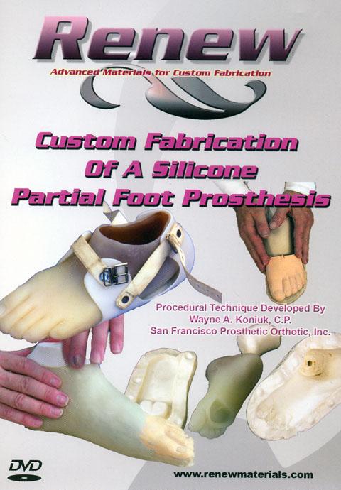 Renew DVD - Silicone Partial Foot (Vol. 2)