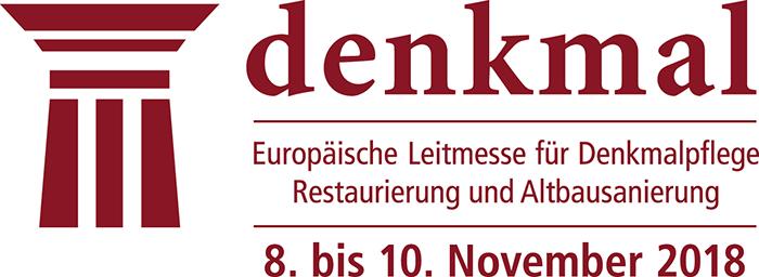 Logo Europäische Leitmesse für Denkmalpflege, Restaurierung und Altbausaniertun.