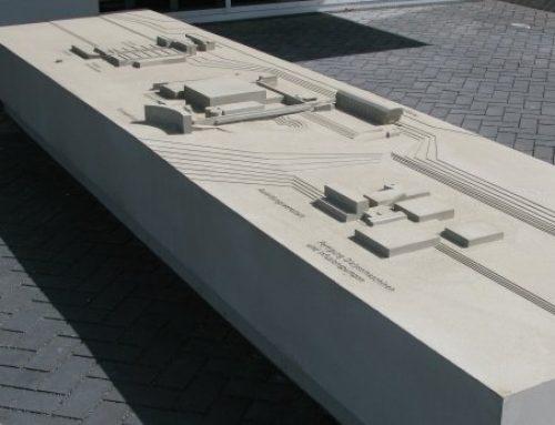 Architekturmodell BBraun Betriebsgelände Melsungen (M 1:400)