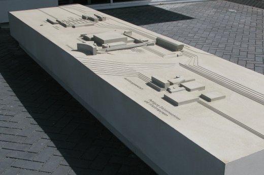architekturmodell bbraun betriebsgel nde melsungen m 1. Black Bedroom Furniture Sets. Home Design Ideas