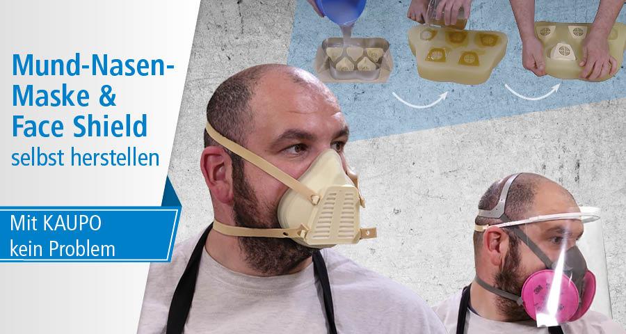 Mund-Nasen-Maske - selbst herstellen