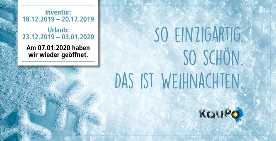 Weihnachten 2019 Kaupo